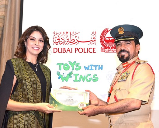 Dubai Police Honors Toys With Wings for the Initiatives' Ongoing Effort to Spread Happiness to Children